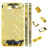 for iPhone 4S Middle Plate - Golden + Black Diamond