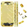 for iPhone 4S Middle Plate - Golden + Black Trangle