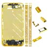 for iPhone 4S Middle Plate - Golden-pink + Hopes Design