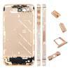 for iPhone 4S Middle Plate - Rose Golden + Diamond
