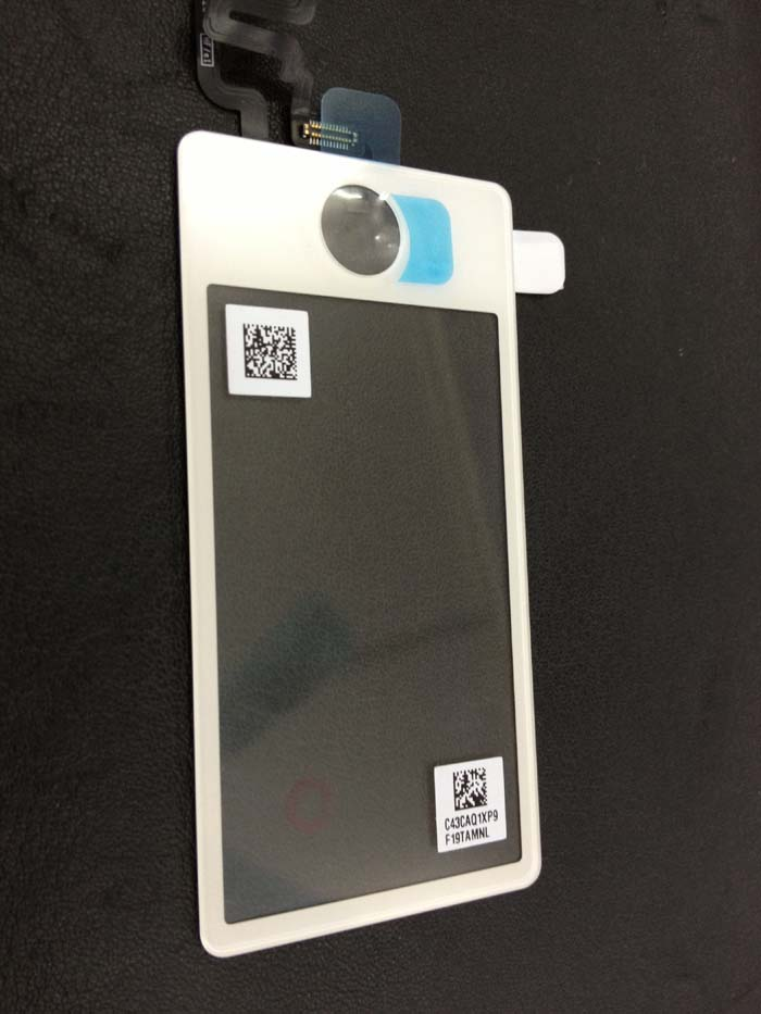 for iPod nano 7 digitizer touch glass parts Original repair parts -white