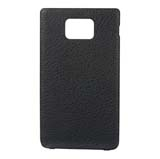 i9100 Leather Cover -Black