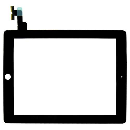 iPad 2 Black Touch Screen Glass Digitizer + 6 Tools