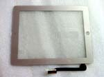 iPad 3 Touch Screen Panel Glass Digitizer Replacement -Silver