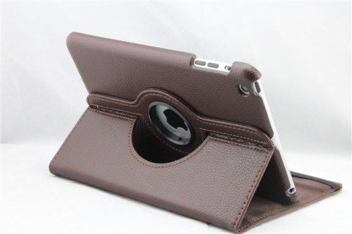 iPad Mini 360 Rotating PU Leather Case -Brown