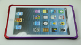 iPad Mini Red/Purple Collocation Aluminum Metal bumper case6 - Screw Up by Screws