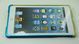 iPad Mini Blue/Green Colors Collocation Aluminum Metal bumper case5 - Screw Up by Screws