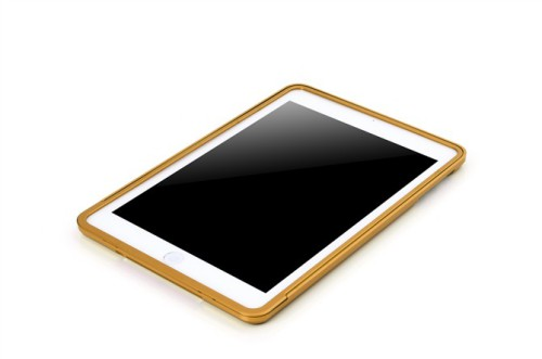 iPad Mini Aluminum Metal bumper case -Gold