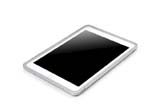 iPad Mini Aluminum Metal bumper case -Silver