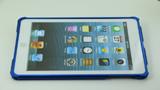 iPad Mini Blue Color Collocation Aluminum Metal bumper case13 - Screw Up by Screws