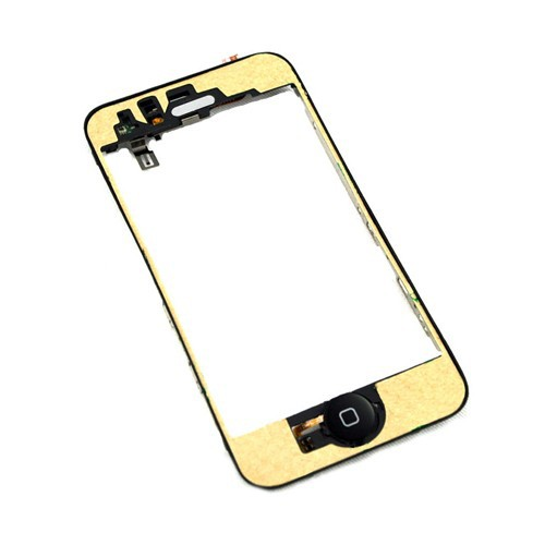 for iPhone 3Gs Mid frame Bezel Chassis +home button flex