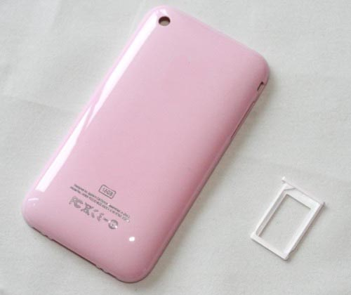 for iPhone 3Gs Replacement back cover -Pink