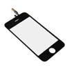 for iPhone 3gs Touch Screen glass lens digitizer - Black