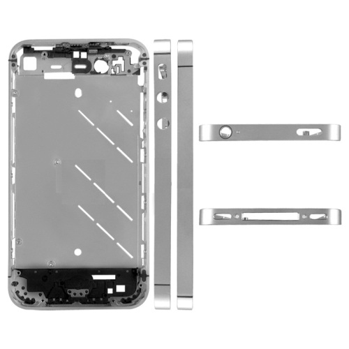 for iPhone 4 CDMA Metal Middle Plate board faceplate - Silver