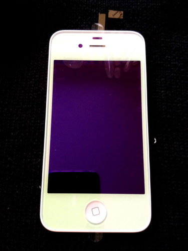 for iPhone 4 CDMA Plating Conversion kit - Chrome White