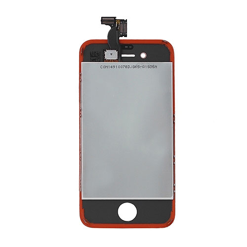for iPhone 4 Conversion Kit (LCD Assembly + Housing + Home Button) - Brownish Red