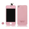 for iPhone 4 Conversion Kit (LCD Assembly + Housing + Home Button) -Pink