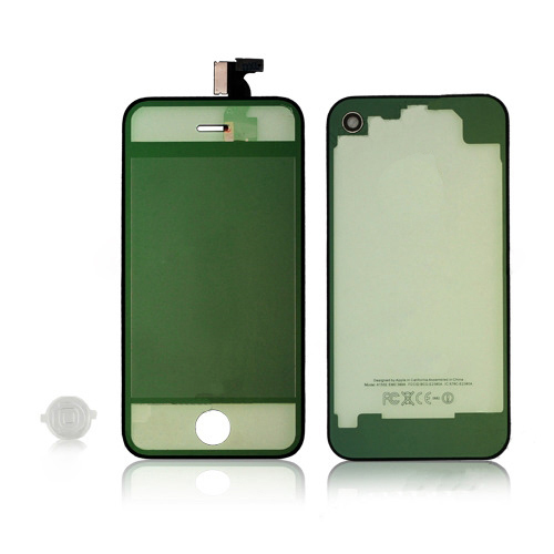 for iPhone 4 GSM Conversion Kits - Plated Mirror Transparent Color