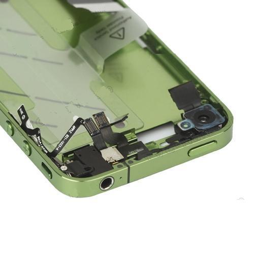 for iPhone 4 Middle Frame board full complete assembly Green