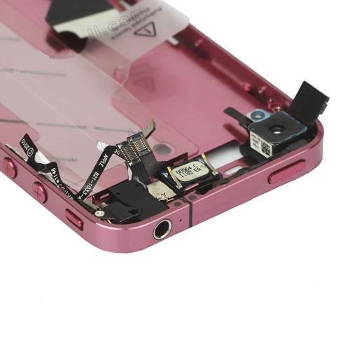 for iPhone 4 Middle Frame board full complete assembly Purple