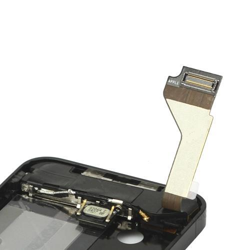 for iPhone 4s Middle Frame board full complete assembly - Black