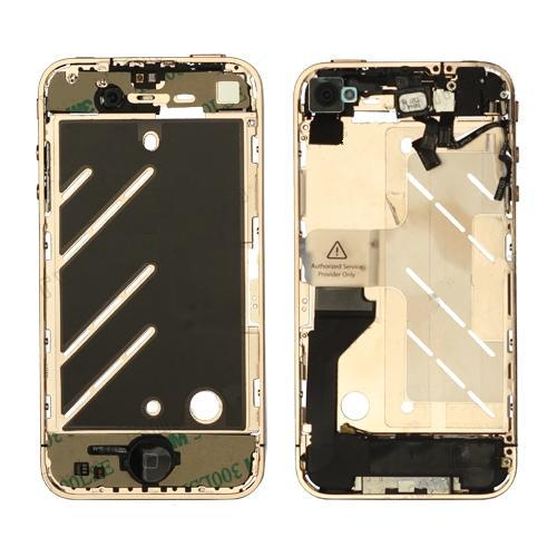 for iPhone 4 Middle Frame board full complete assembly Rose Gold