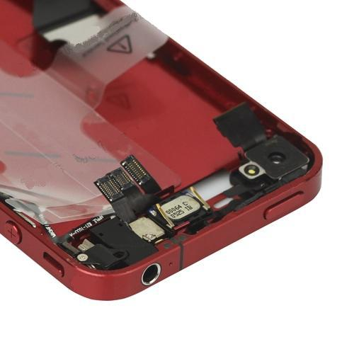 for iPhone 4 Middle Frame midframe Assembly-Deep Red