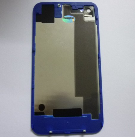 for iPhone 4S Conversion Kit -Plated Mirror Full Deep Blue