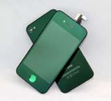 for iPhone 4S Conversion Kit -Plated Mirror Deep Green