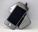for iPhone 4S Conversion Kit - Plated Mirror Silver