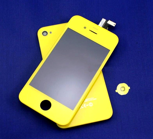 for iPhone 4S Conversion Kit -Yellow