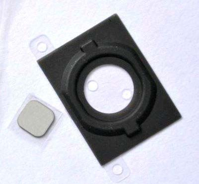 for iPhone 4S Home Button Holder Rubber Gasket +Metal piece