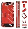 for iPhone 4S Metal Midframe Middle frame board - Plated Red