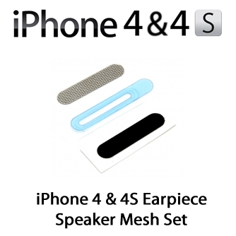 for iPhone 4s/4 Earpiece Speaker Mesh Set 5pcs/lot