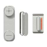 for iPhone 5 3 in 1 Complete Side Buttons Set (Power + Volume + Mute Switch)
