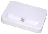 for iPhone 5 Data Sync Charger Docking Station 8 Pin Dock Cradle -White