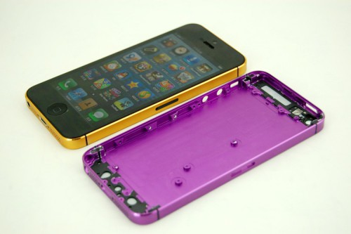 OEM Colorful for iPhone 5 Mid Frames Rear Casing Housing Back Cover + back glass