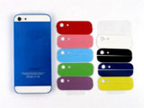 Electroplated for iPhone 5 Middle Frame Chassis Housing Rear Case -Deep Blue