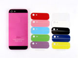 Plated Colored for iPhone 5 Middle Plate Chassis Housing Faceplates +buttons -Pink
