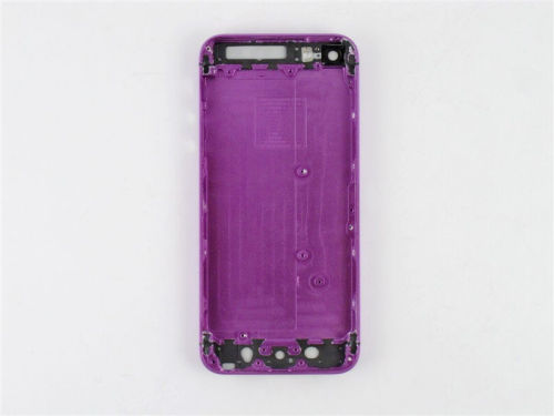 Color Plated for iPhone 5 Middle Frame Chassis Housing Faceplates -Purple