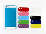 Electroplated for iPhone 5 Housing Middle Frame Chassis Faceplates -Light Blue