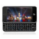 for iPhone 5 Slide Bluetooth Qwerty Keyboard Case -Black
