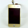 iPod Touch 4 Front LCD assembly - Plated Gold
