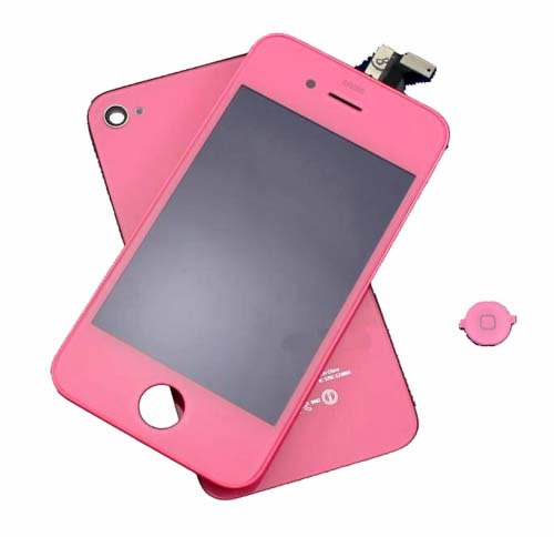 for iPhone 4 GSM conversion kit - pink