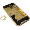 for iPhone 4 Middle frame Midframe Full assembly-Gold with Diamond