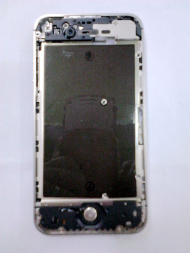 for iPhone 4S Middle frame Midframe board Full assembly-Silver