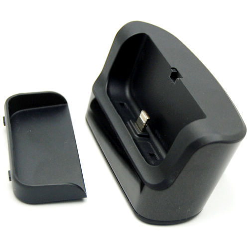 for iPhone 5 8-pin Charger Cradle Dock & Data Sync Station -Black