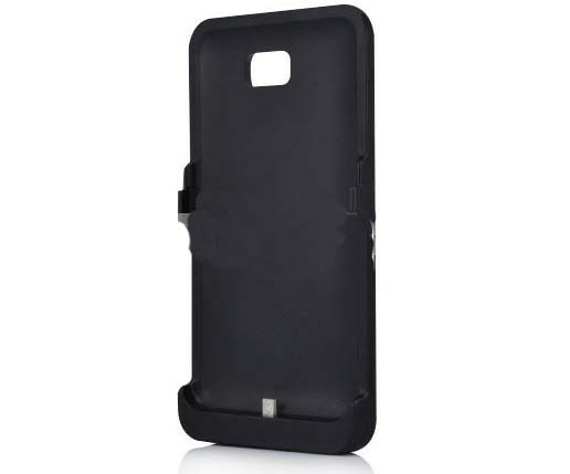 3200mAh External Battery Case Power Bank for Samsung Galaxy Note i9220 - Black