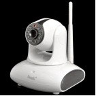 "EasyN H6-M137 1/4"" CMOS 300KP Security Surveillance IP Network Camera+WiFi / Night Vision -Gray"