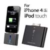 1000mAh External Power Backup Battery Charger for iPhone 4 4S 4G 3GS 3G iTouch